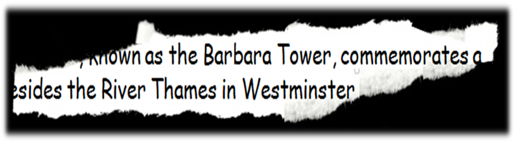 The Barbara Tower at the New Palace of Westminster