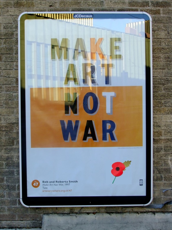 Make Art Not War says Nottingham Contemporary