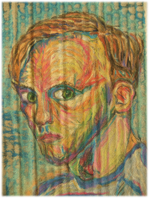 Stuart Burch, Self Portrait, c.1988