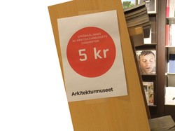 Arkitekturmuseet clears out stock at Moderna Museet