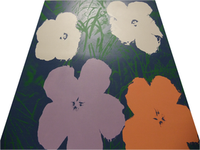 Warhol Flowers by Sturtevant