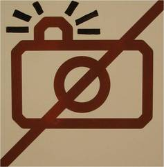No photography at Moderna Museet